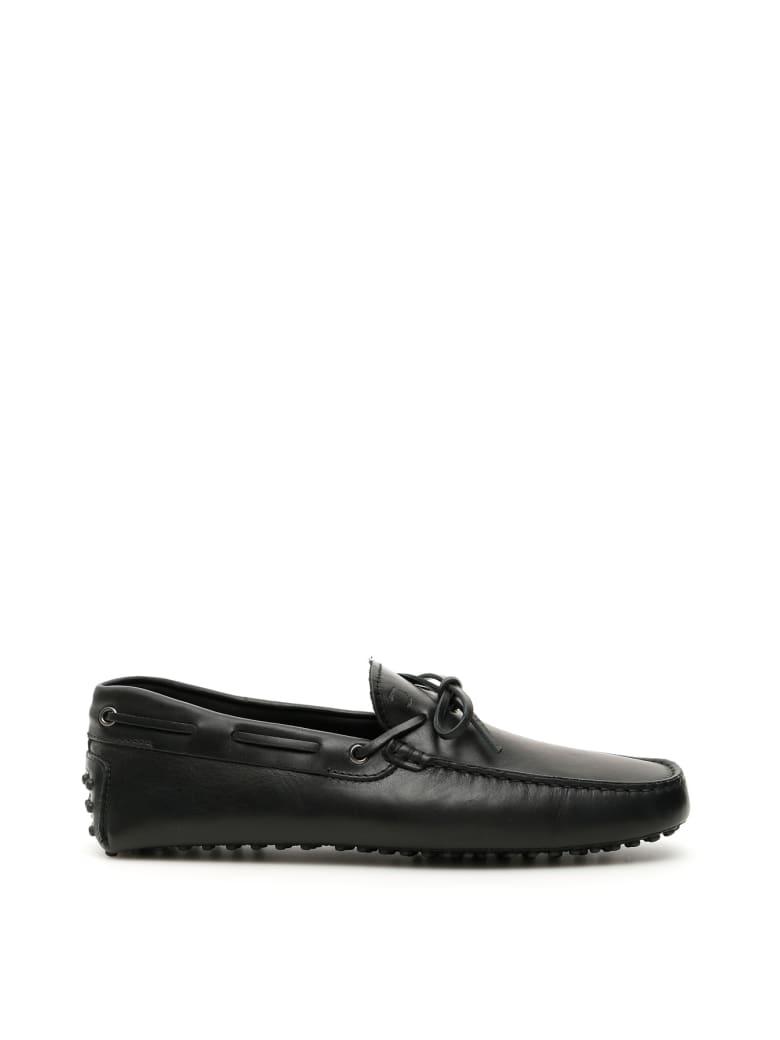 Tod's New Laccetto Gommino Loafers - NERO (Black)