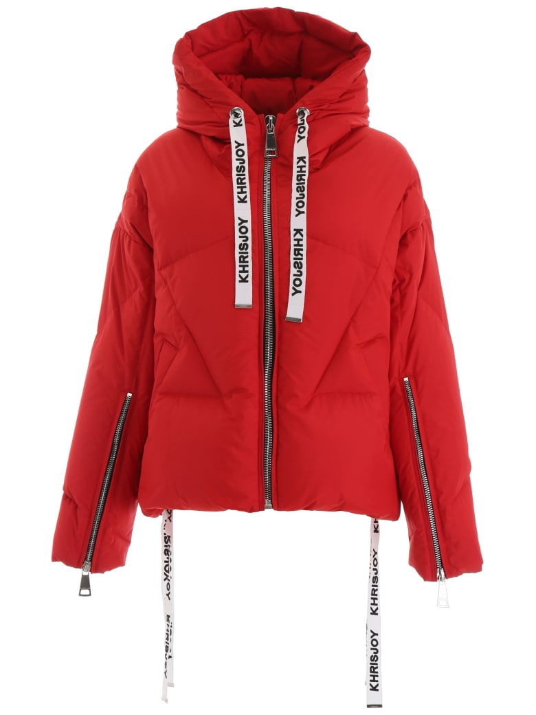 Khrisjoy Khris Puffer Jacket - SUPERLIGHT RED (Red)