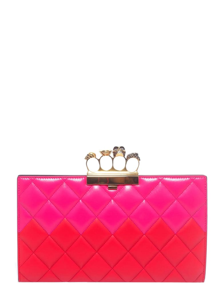 Alexander McQueen Clutch - Red