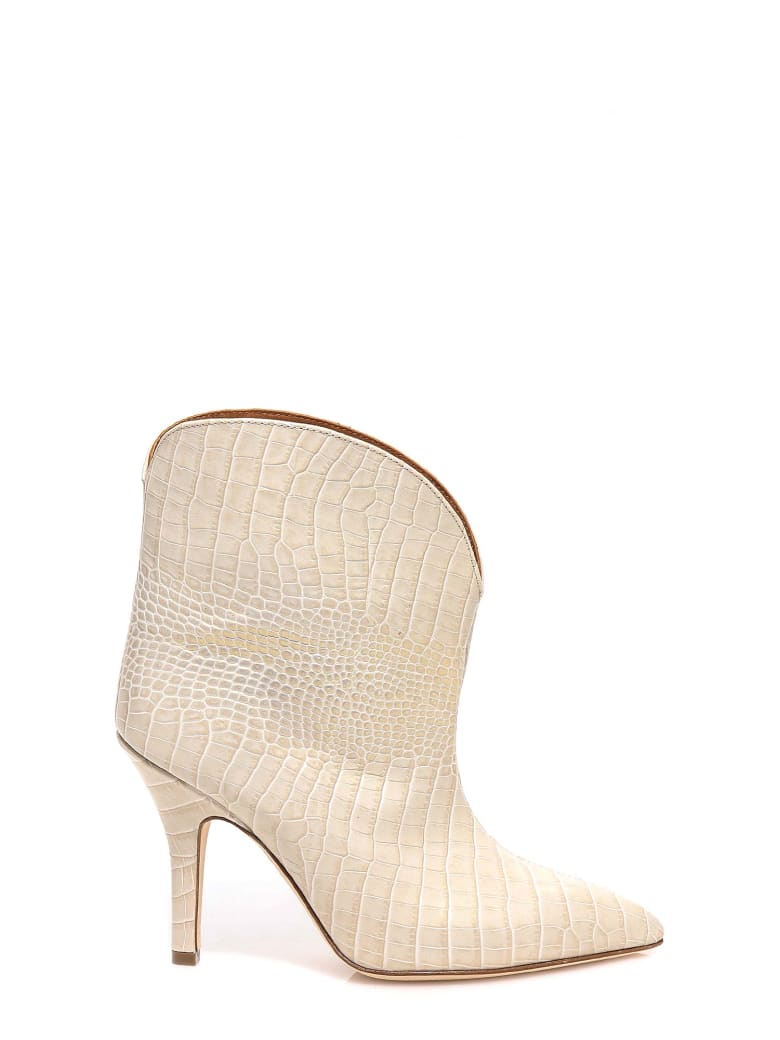 Paris Texas Ankle Boots - Beige