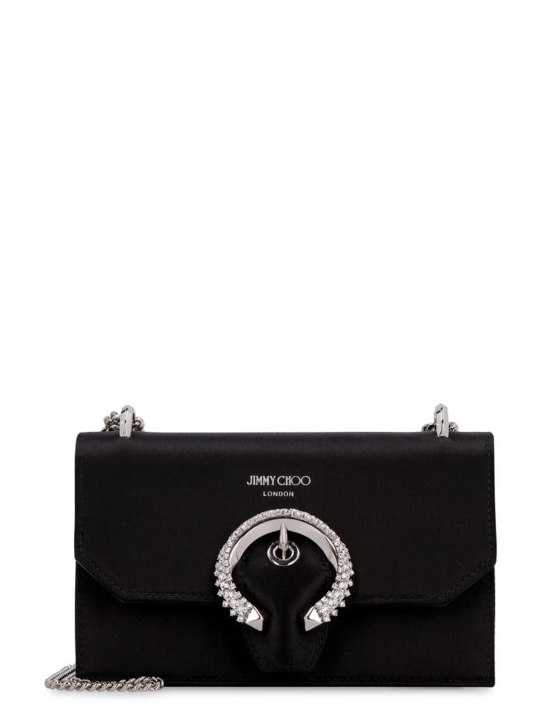 Jimmy Choo Paris Satin Mini-bag - black