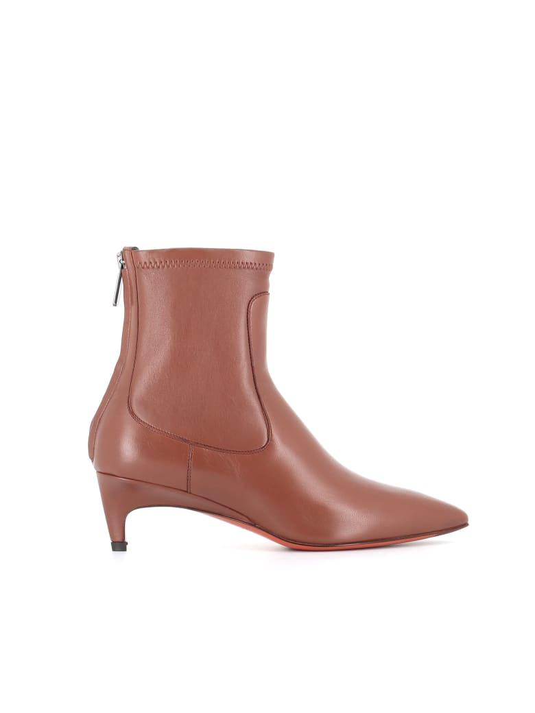"""Santoni Ankle Boot """"mina"""" - Leather"""