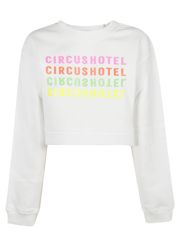 Circus Hotel Printed Sweatshirt - White
