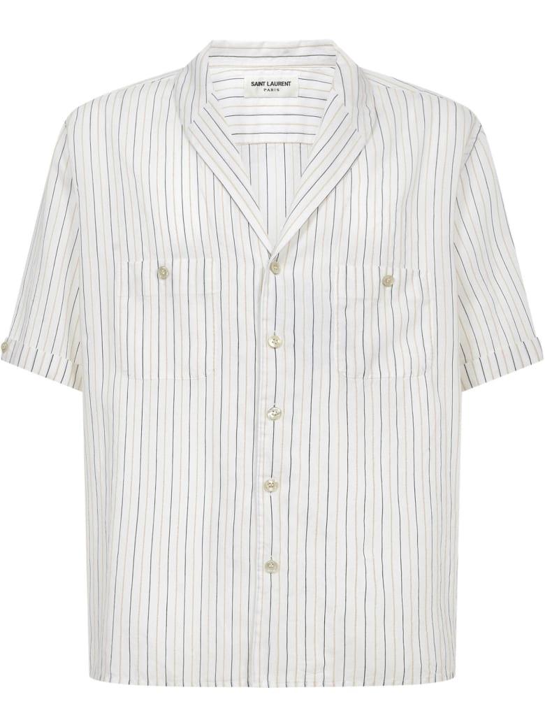 Saint Laurent Shirt - Beige