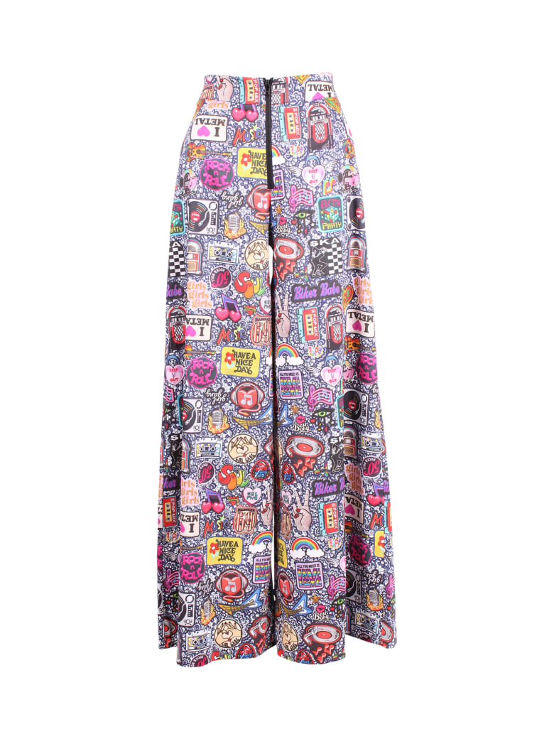 Ultrachic Cotton Trousers - Glamrock