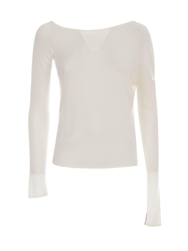Liviana Conti Single Houlder Sweater - Moonstone