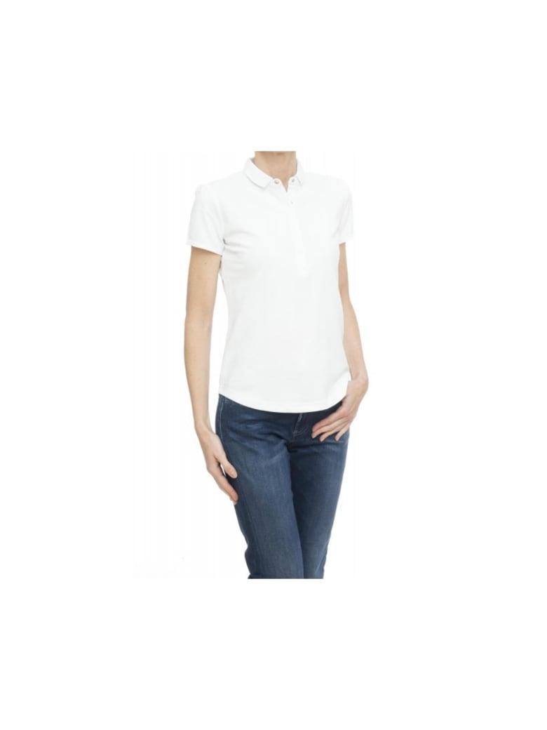 Sun 68 Polo Shirt - WHITE