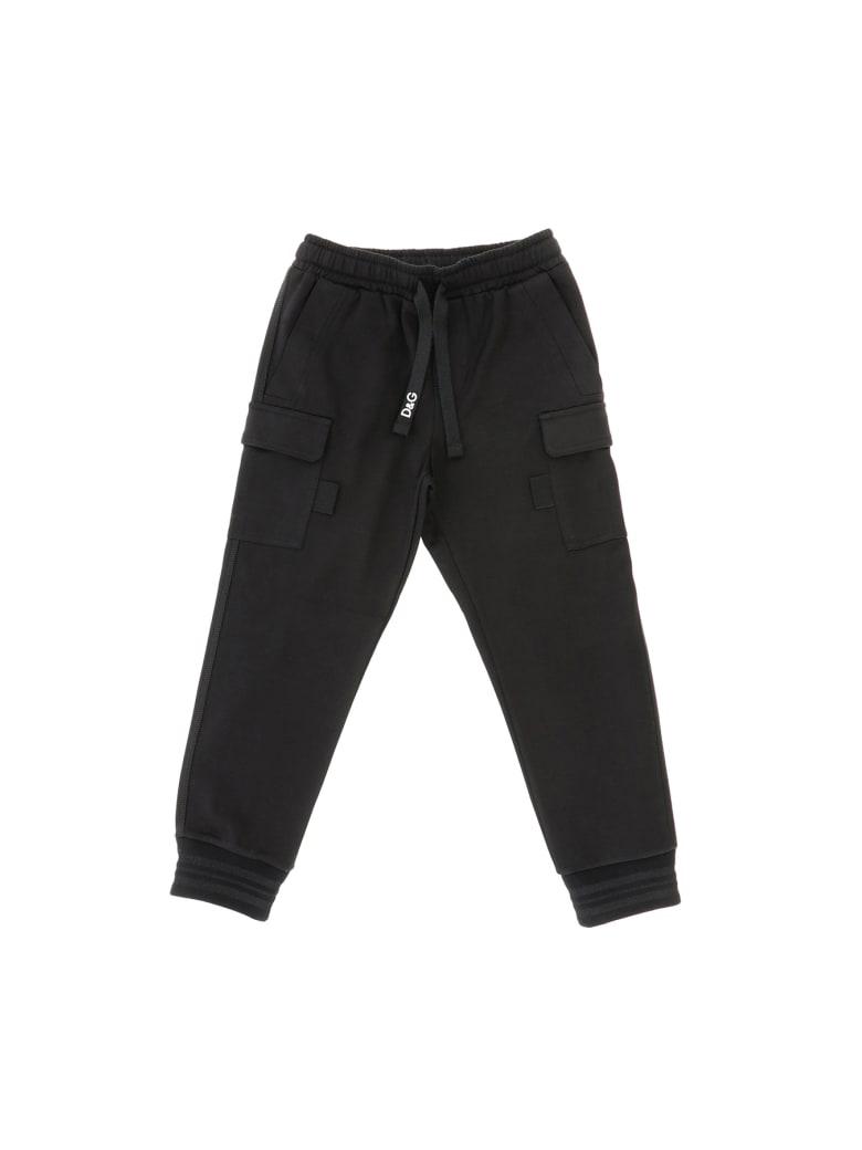 Dolce & Gabbana Pantalone Nero - Nero