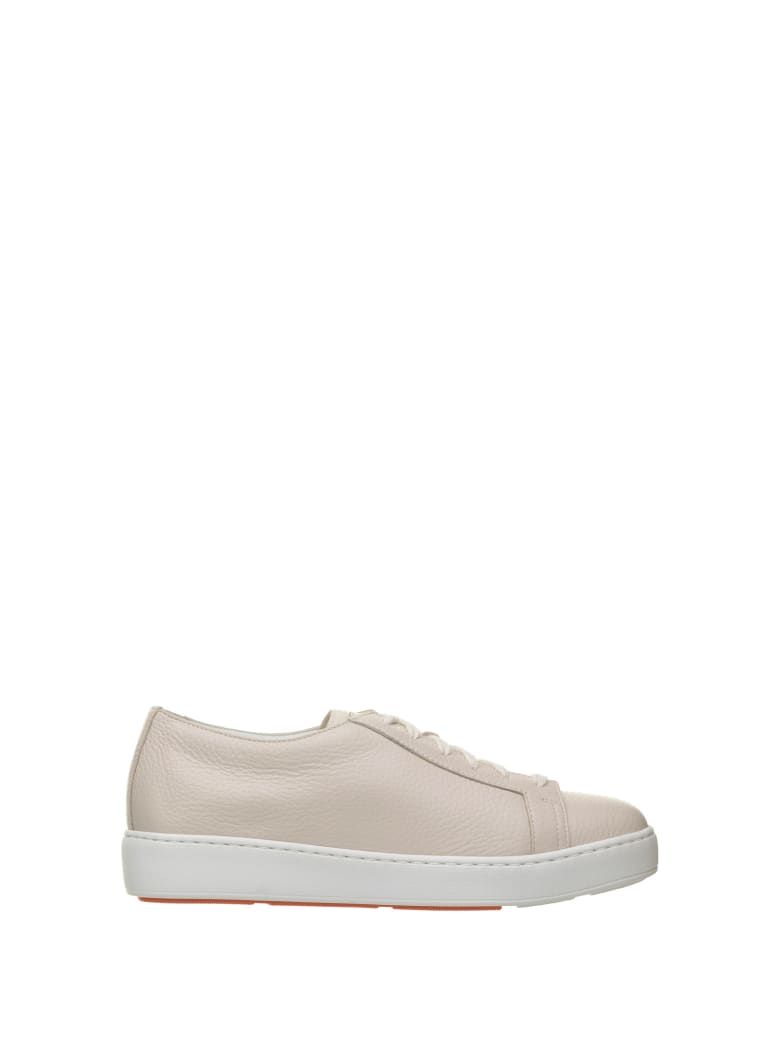Santoni Santoni Club Ivory Sneakers - PANNA