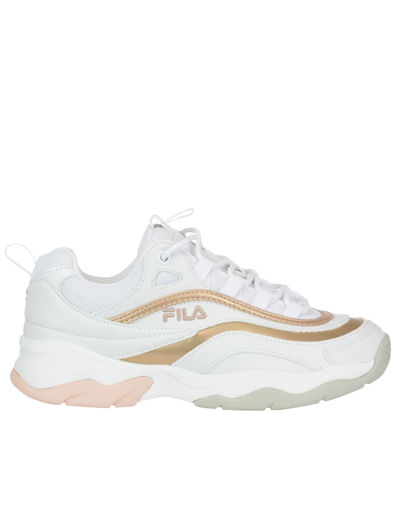 Fila Ray F Low Sneakers - White