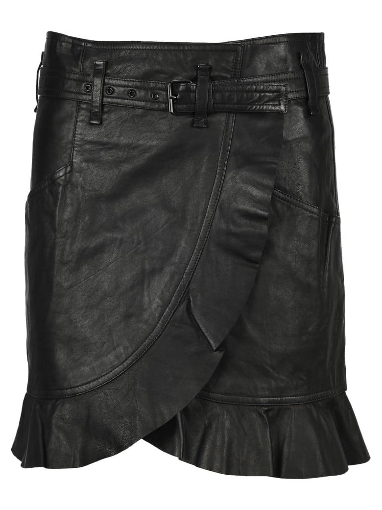 Isabel Marant Étoile Im Etoile Qing Skirt - BLACK