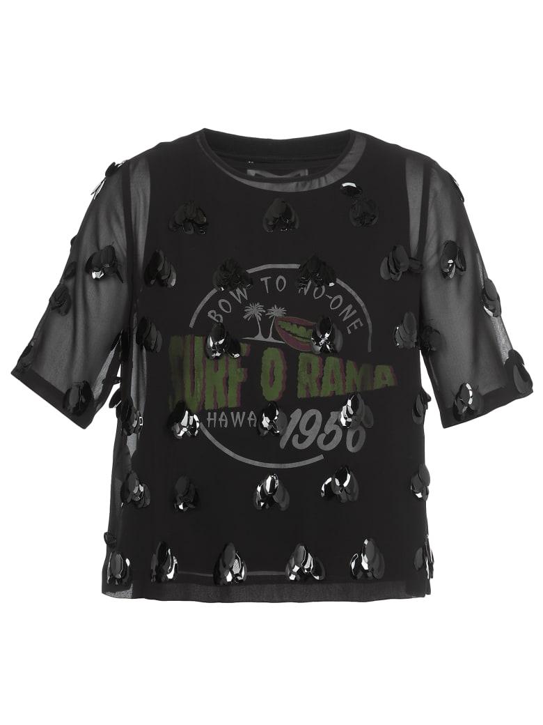 McQ Alexander McQueen Layered T Shirt - BLACK MULTI