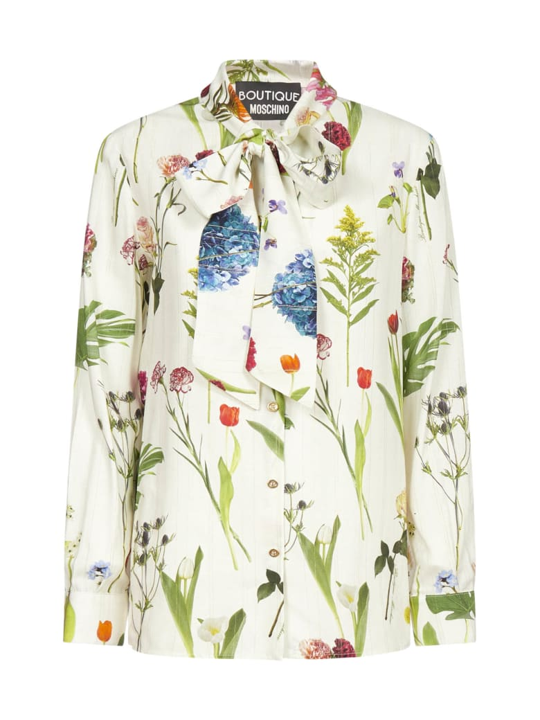 Boutique Moschino Shirt - Fantasia avorio