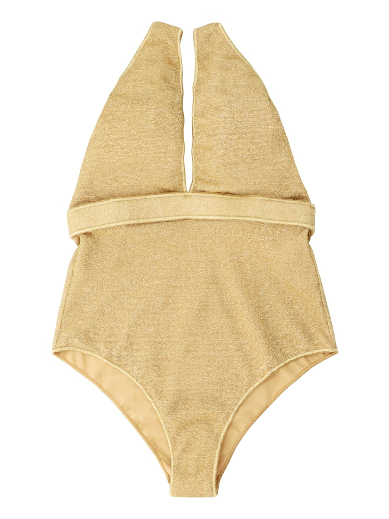 Oseree Lumière One-piece Swimsuit - Gold