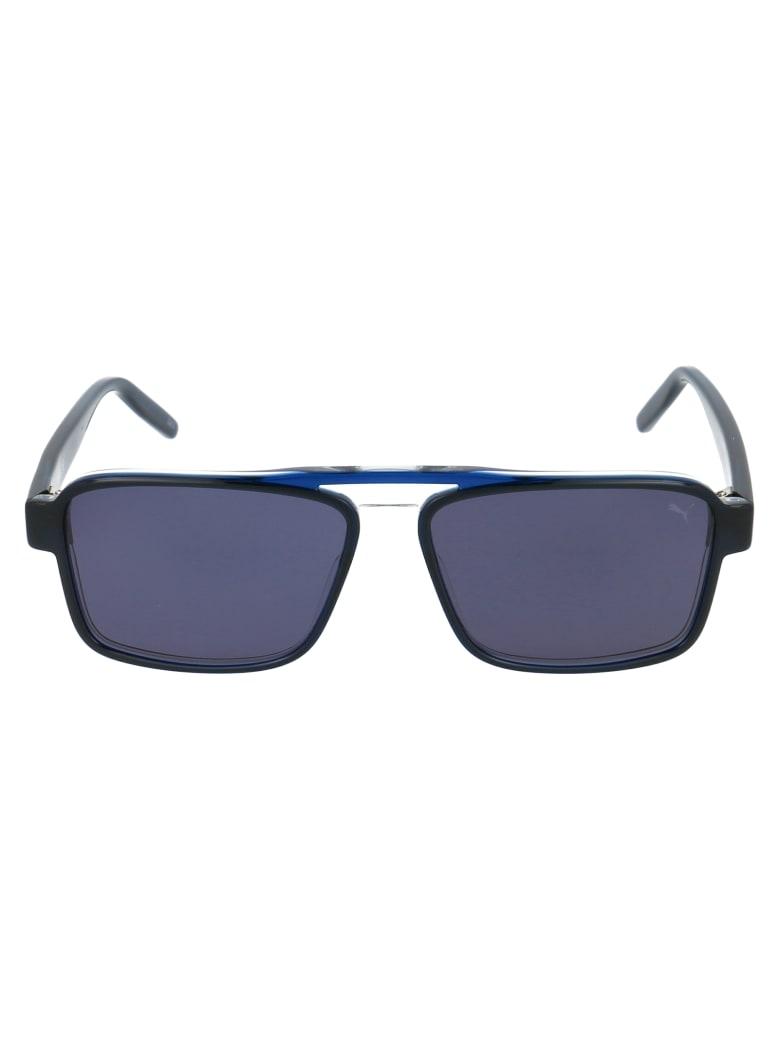 Puma Sunglasses - Grey Blue Smoke