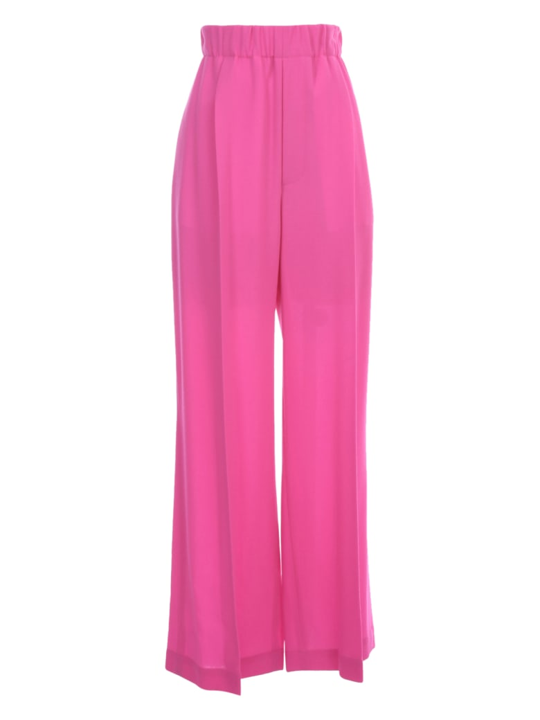 Jejia Skinny Pants Elastic Waist - Fucsia