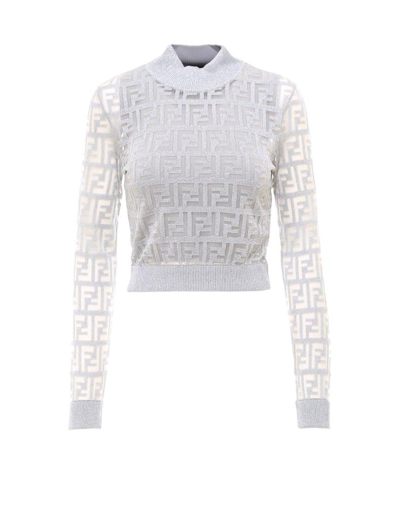 Fendi Sweater - Silver