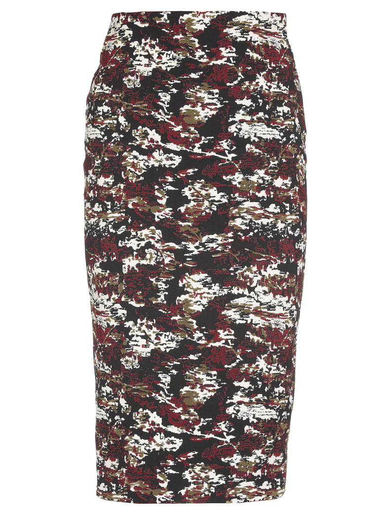 Victoria Beckham Pencil Skirt - MULTI