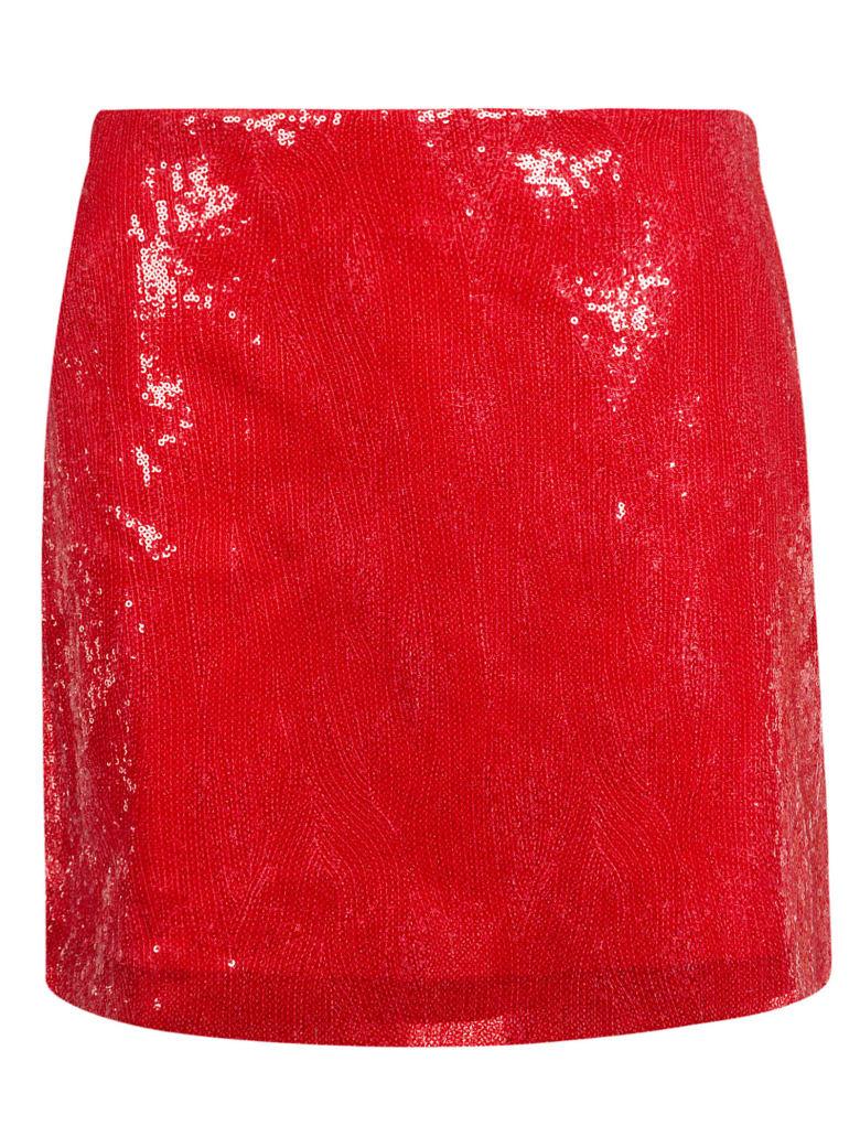 Alberta Ferretti Sequined Mini Skirt - C
