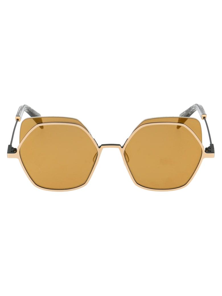 Yohji Yamamoto Sunglasses - Gold
