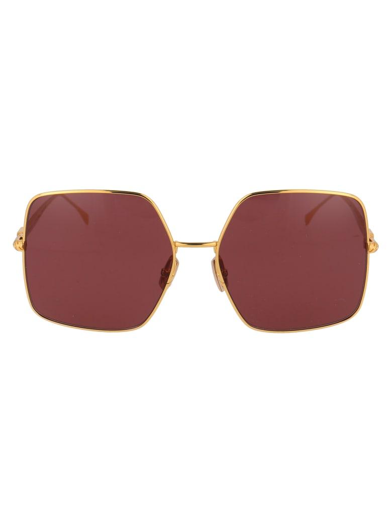 Fendi Ff 0439/s Sunglasses - 001U1 YELLOW GOLD