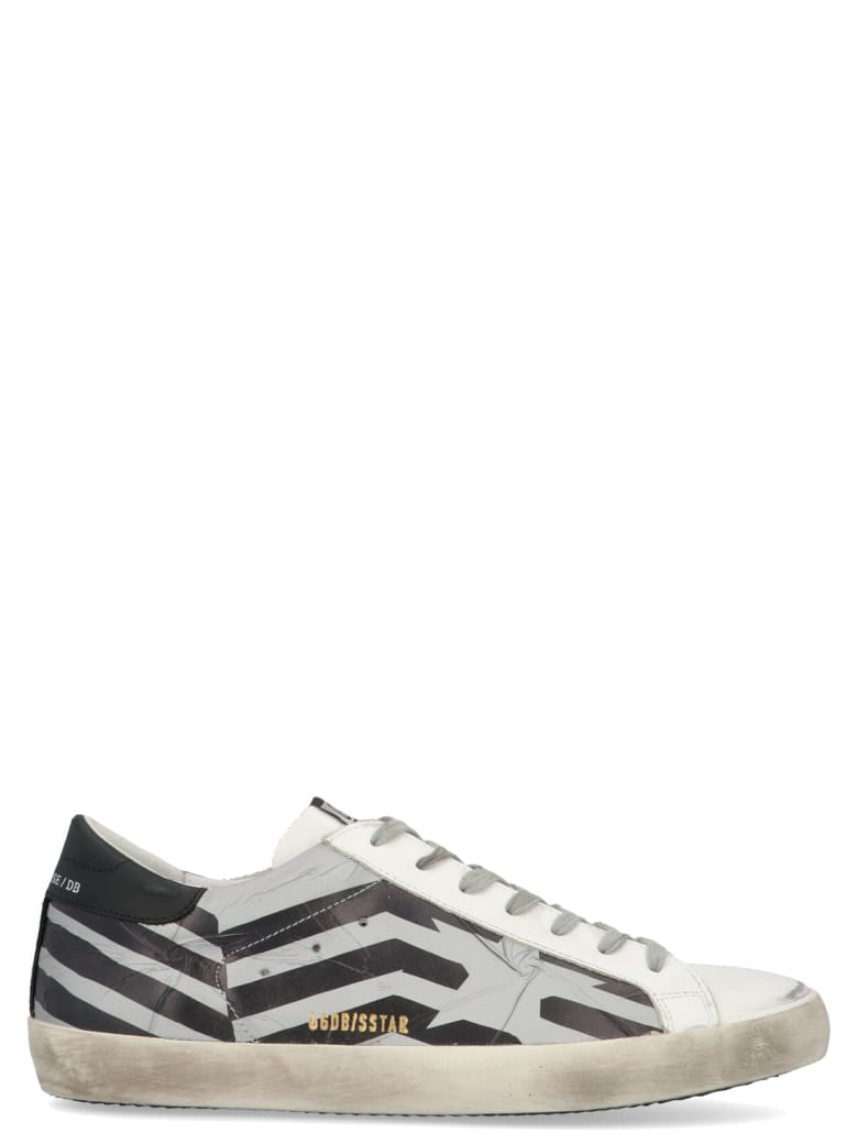 Golden Goose 'superstar' Shoes - Grey