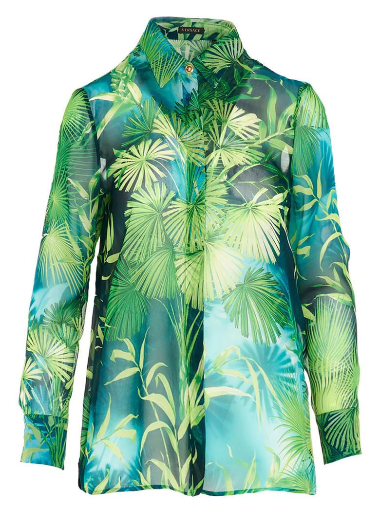 Versace 'jungle' Shirt - Green