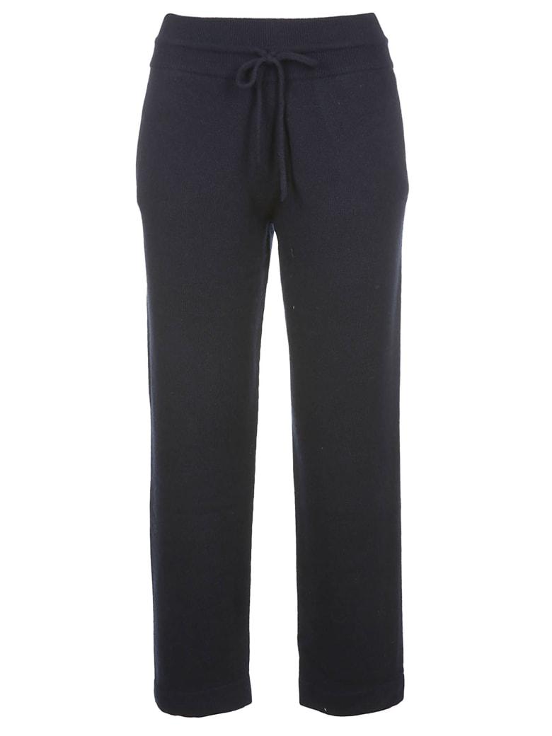 Agnona Cashmere Sweatpants - Navy