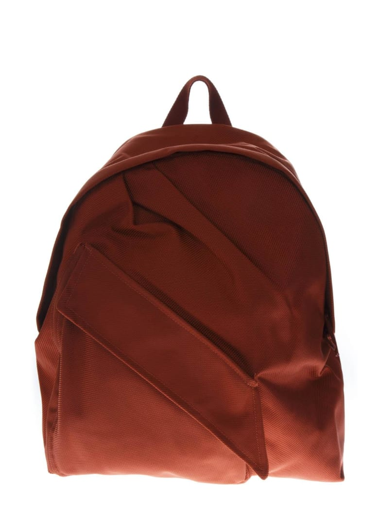 Eastpak Orange Backpack In Fabric - Arancione