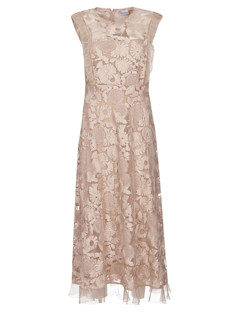 Best Price On The Market At Italist Red Valentino Red Valentino Floral Lace Dress