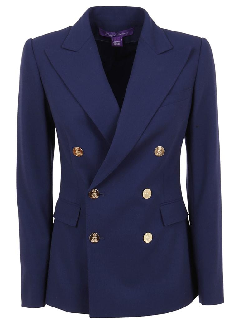 Ralph Lauren Black Label Camden-lined-jacket - Navy Crepe