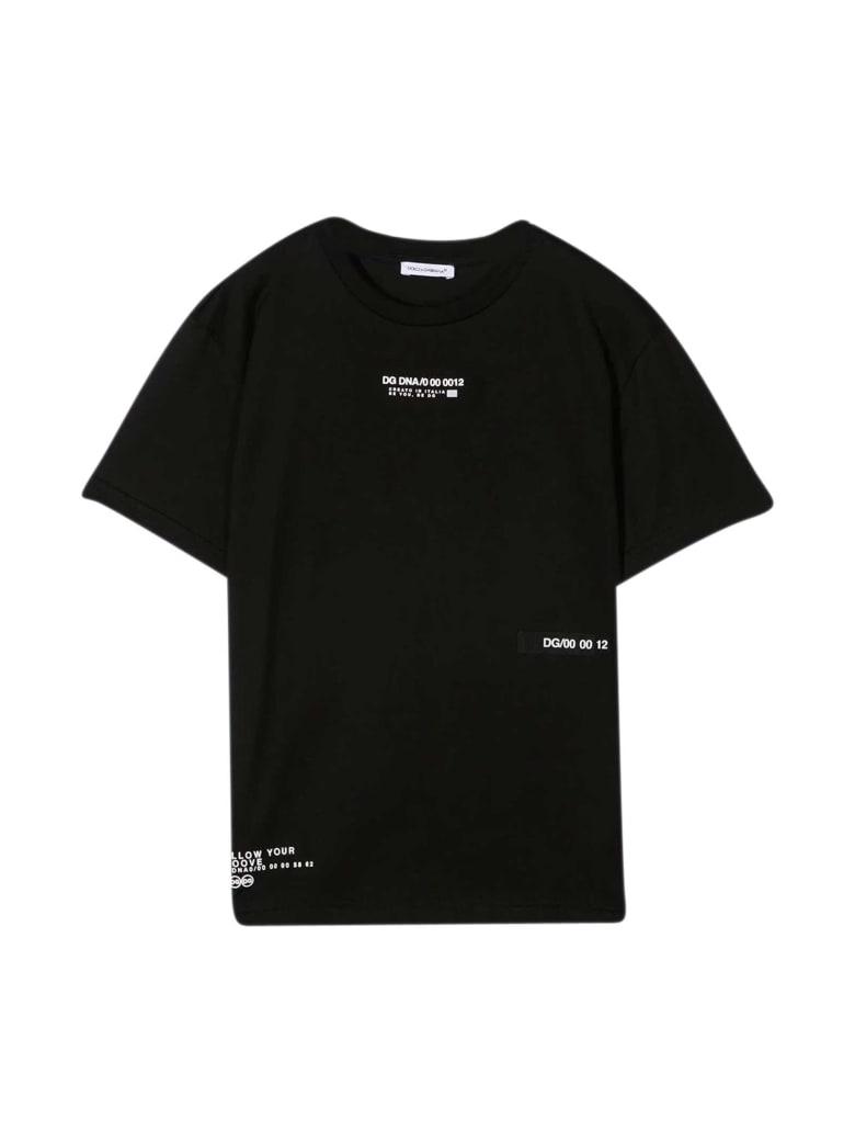 Dolce & Gabbana Black T-shirt - Nero