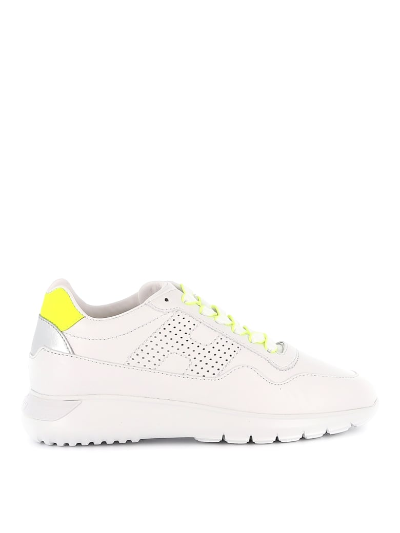 Hogan Sneakers - White/yellow fluo