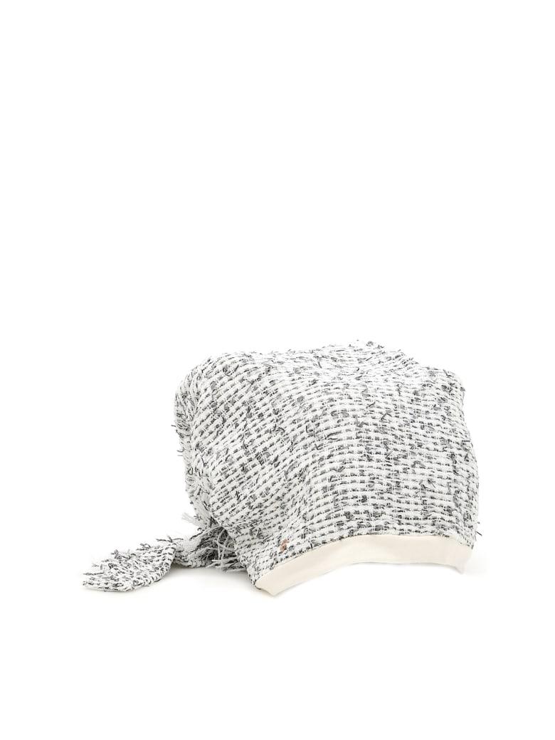 Flapper Atena Hat - WHITE NET (White)