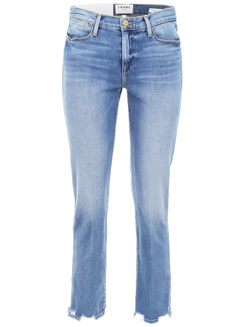 Frame Le High Straight Jeans - BREAKWATER (Light blue)