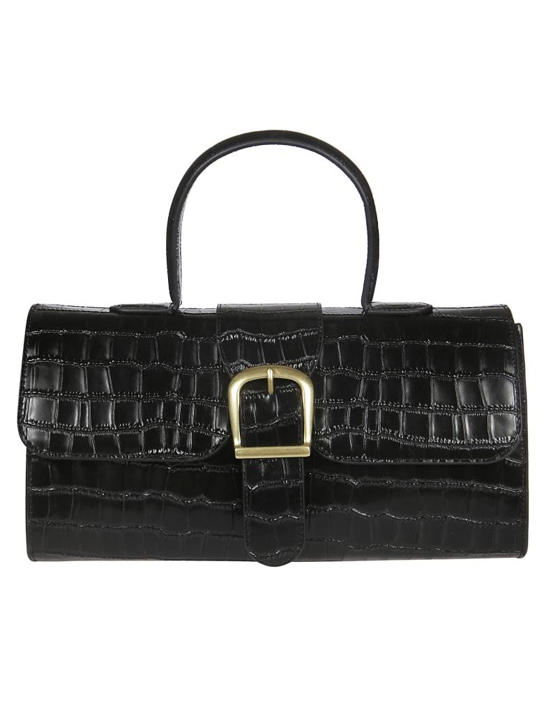 Rylan Crocs Shoulder Bag - Nero