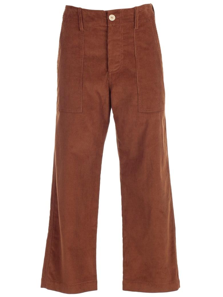 Jejia Nice Pants Velvet W/ribs - Brown