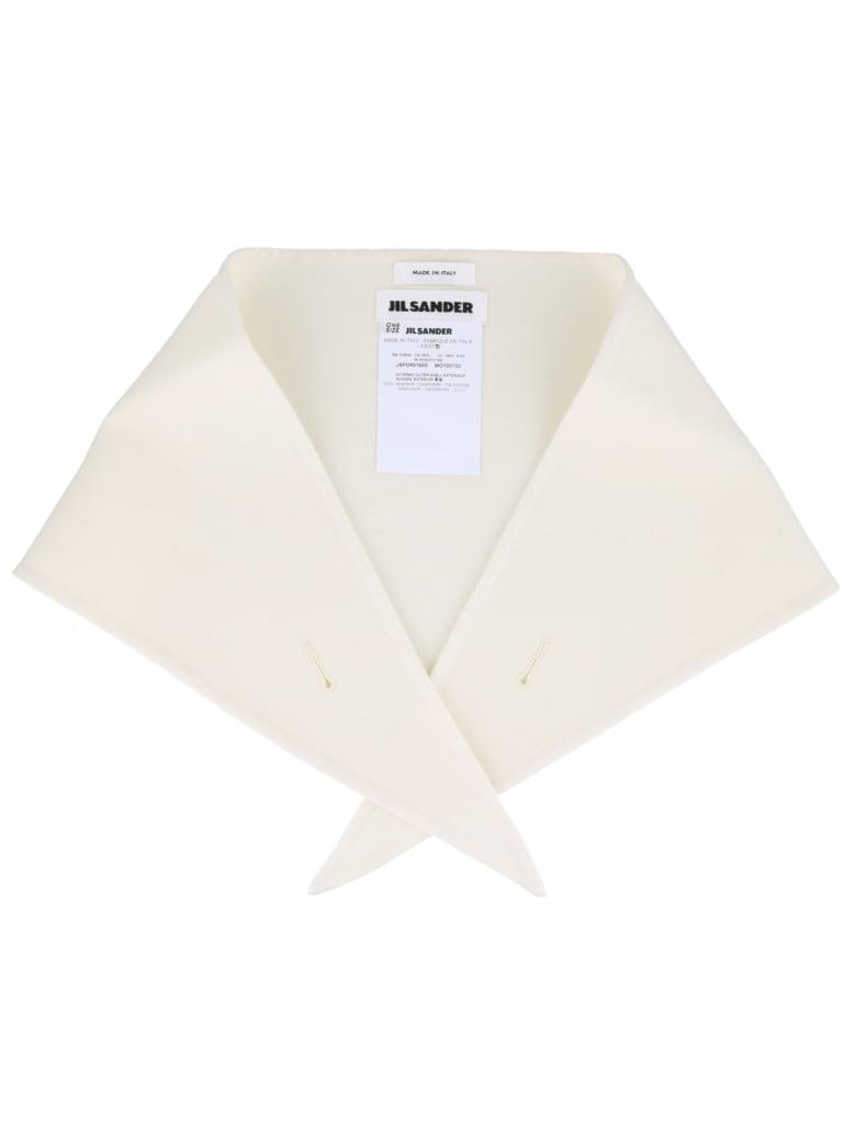 Jil Sander Collar Scarf - Medium beige
