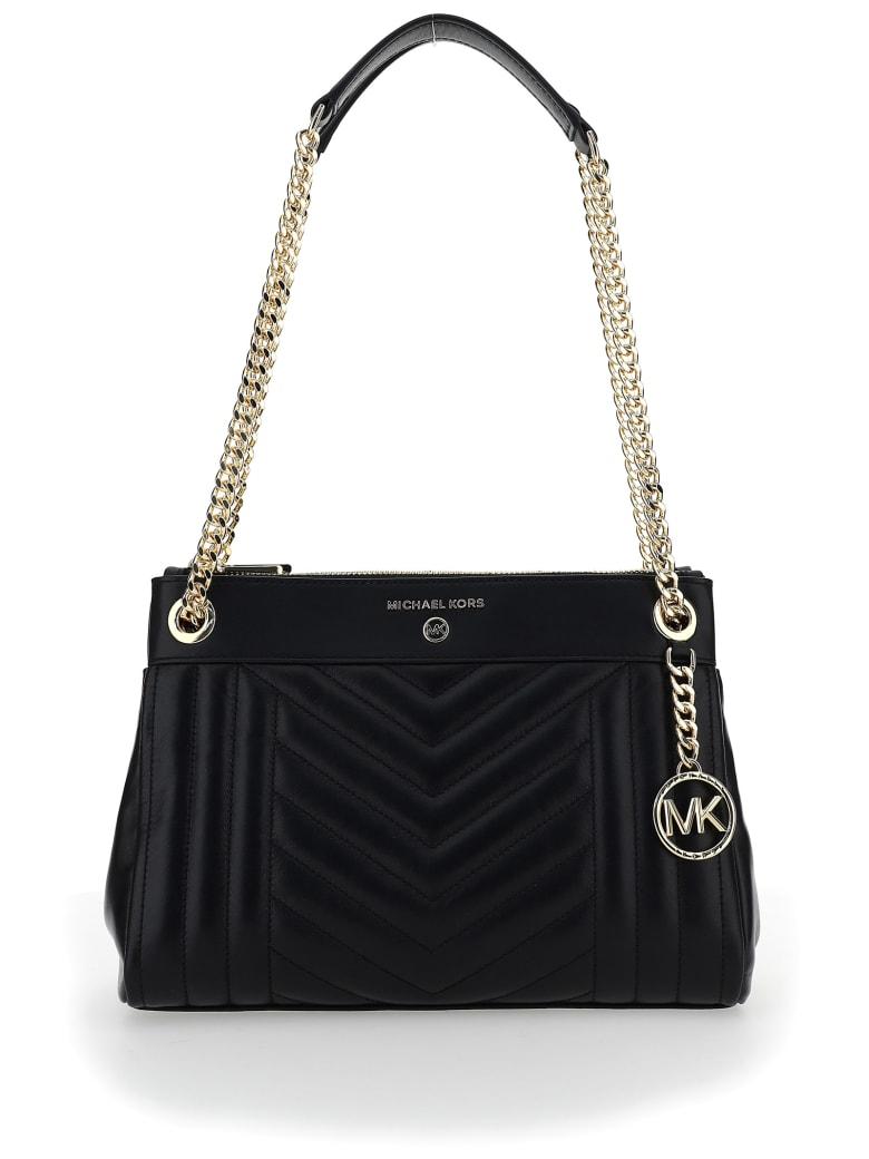 Michael Kors Susan Small Shoulder Bag - Black