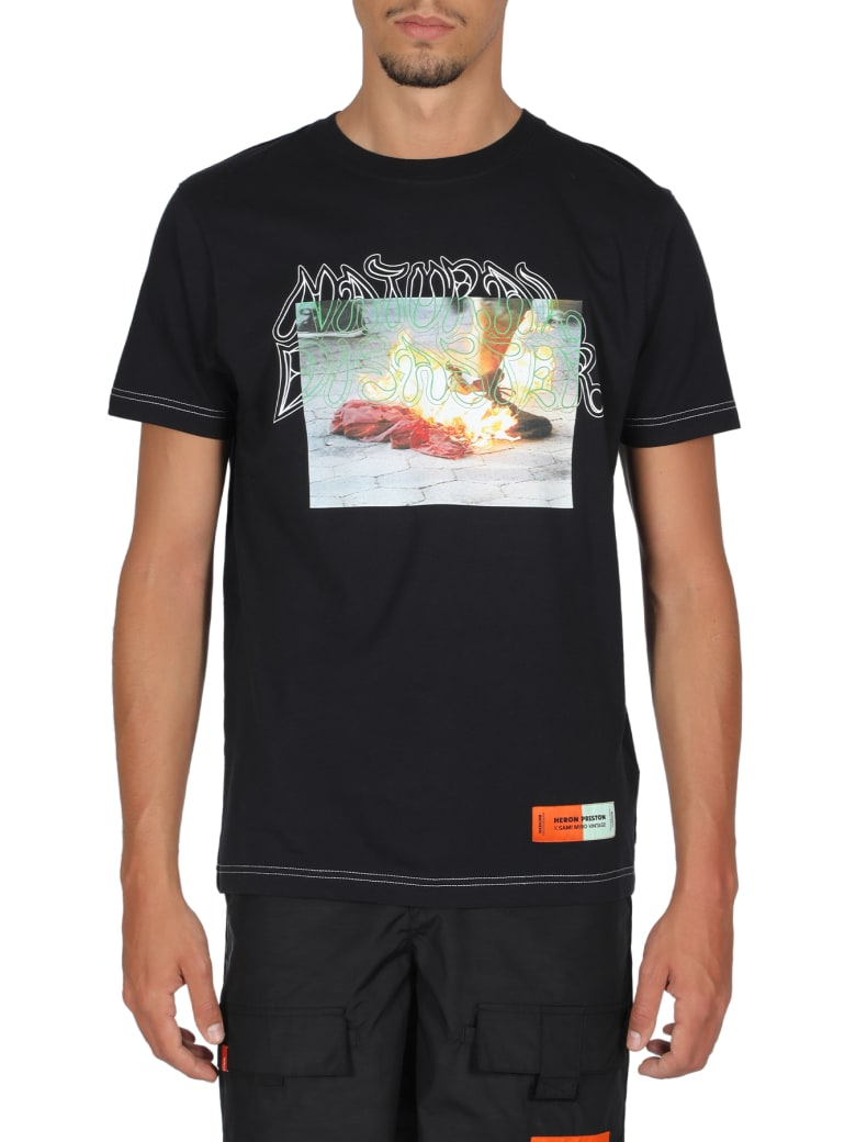 HERON PRESTON T-shirt Sami Miro - Nero/multicolor