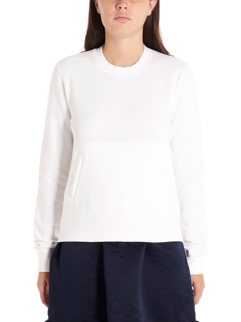 Comme Des Garçons Girl 'heart' Sweatshirt - White