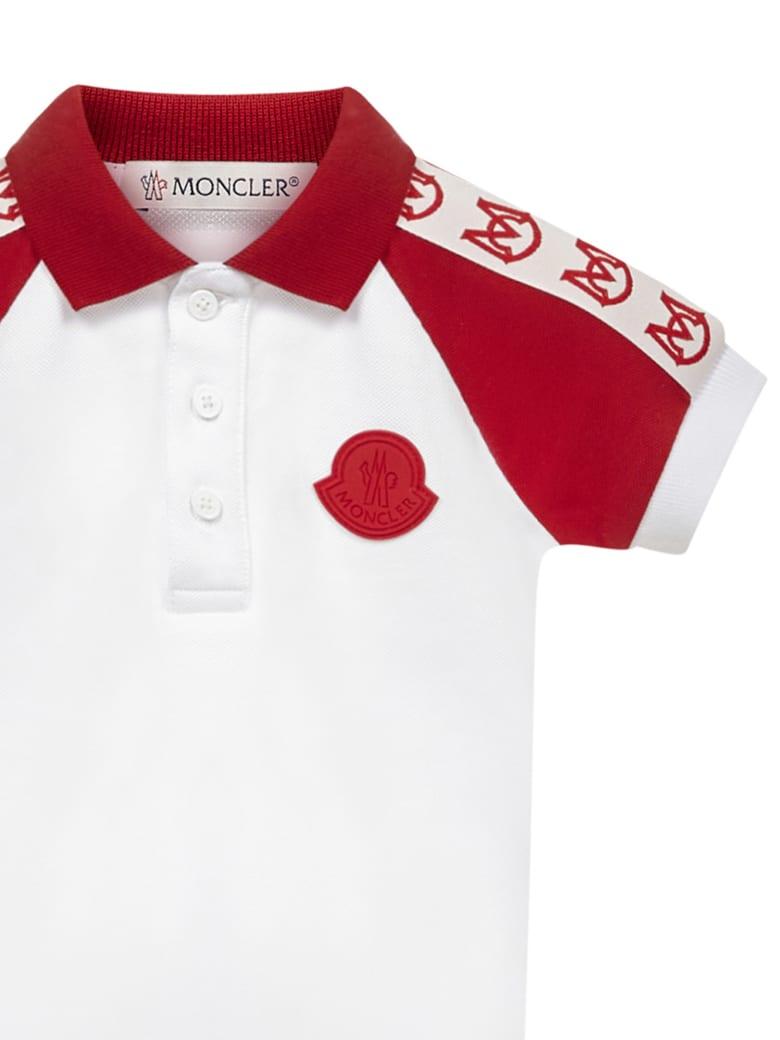 Moncler Enfant Polo Shirt - White