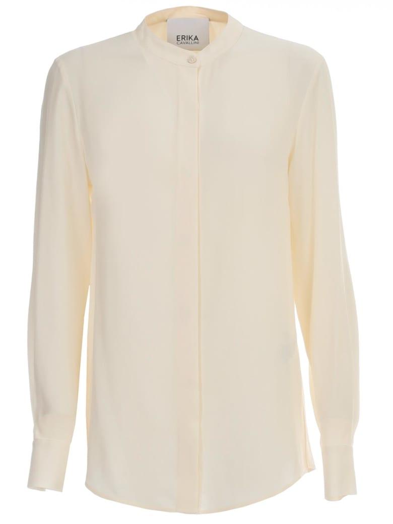 Erika Cavallini Caryl Shirt Korean Neck - Marshmallow