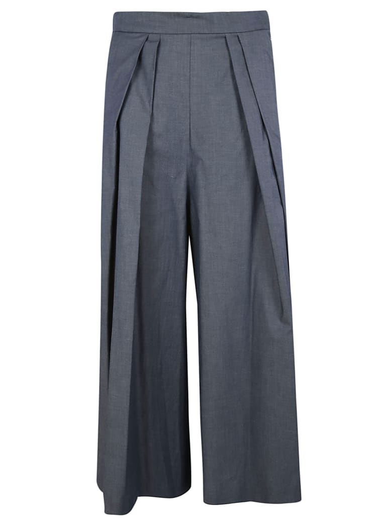 Antonio Marras Cropped Palazzo Trousers