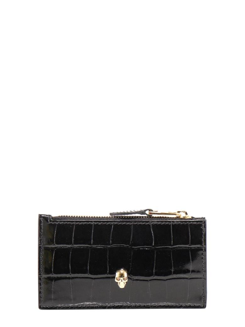 Alexander McQueen Card Holder - Black