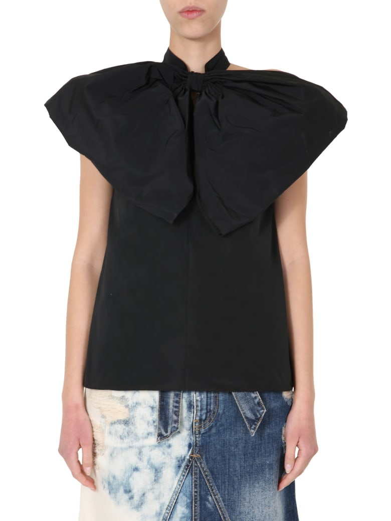 Givenchy Top With Bow - NERO