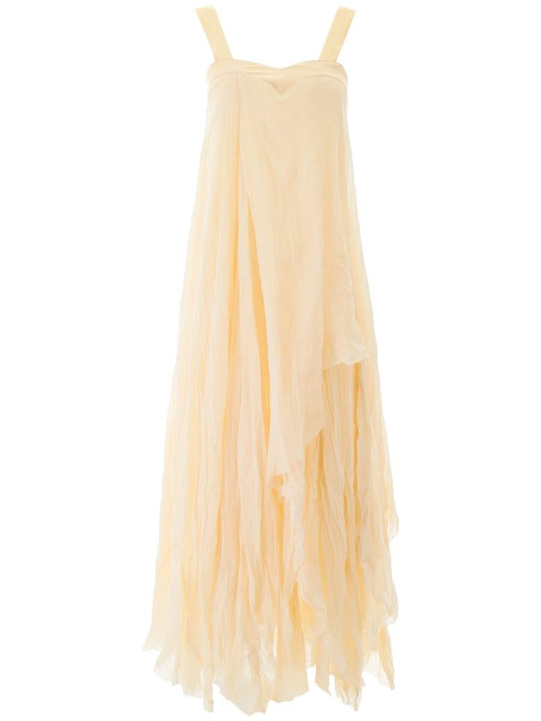Mes Demoiselles Valentine Asymmetrical Dress - IVORY (Beige)