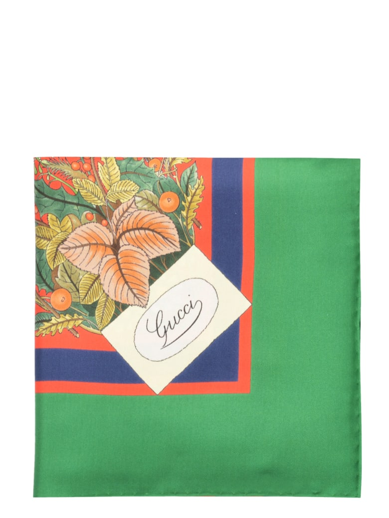 Gucci Scarf - Red Green