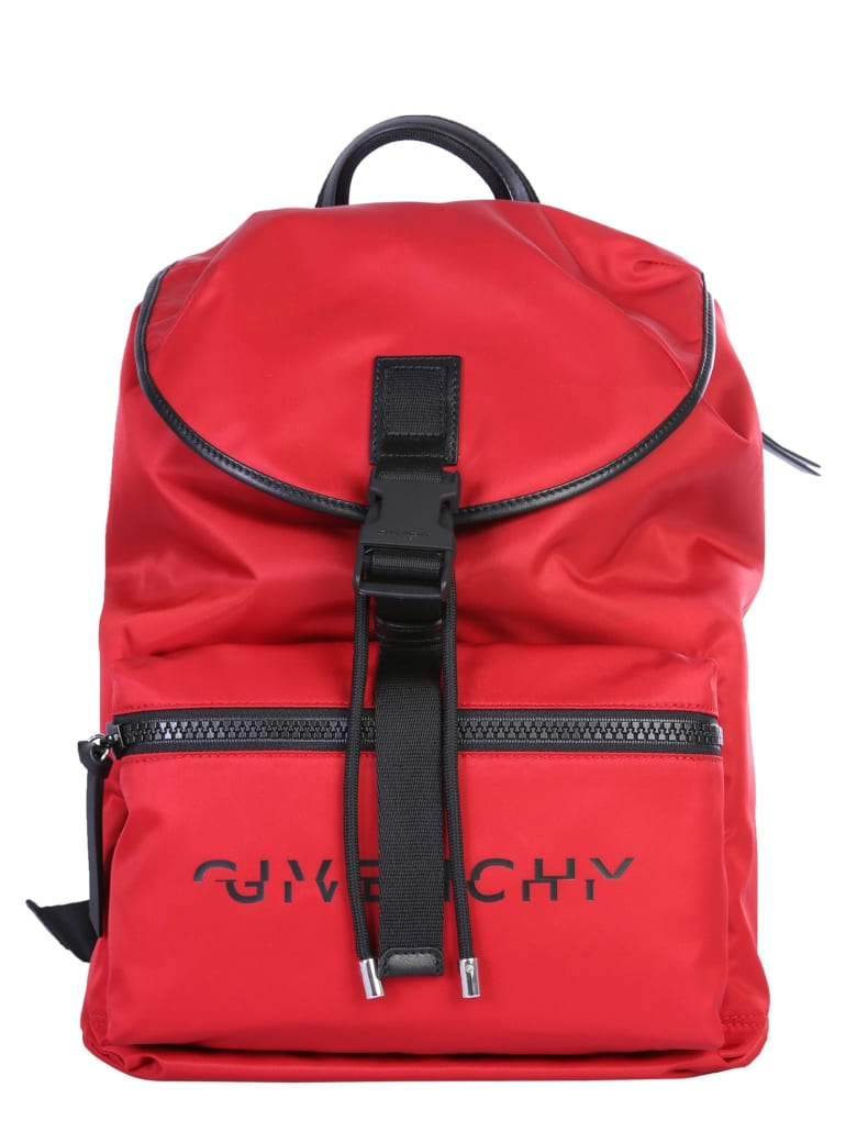 Givenchy Light 3 Backpack - Red