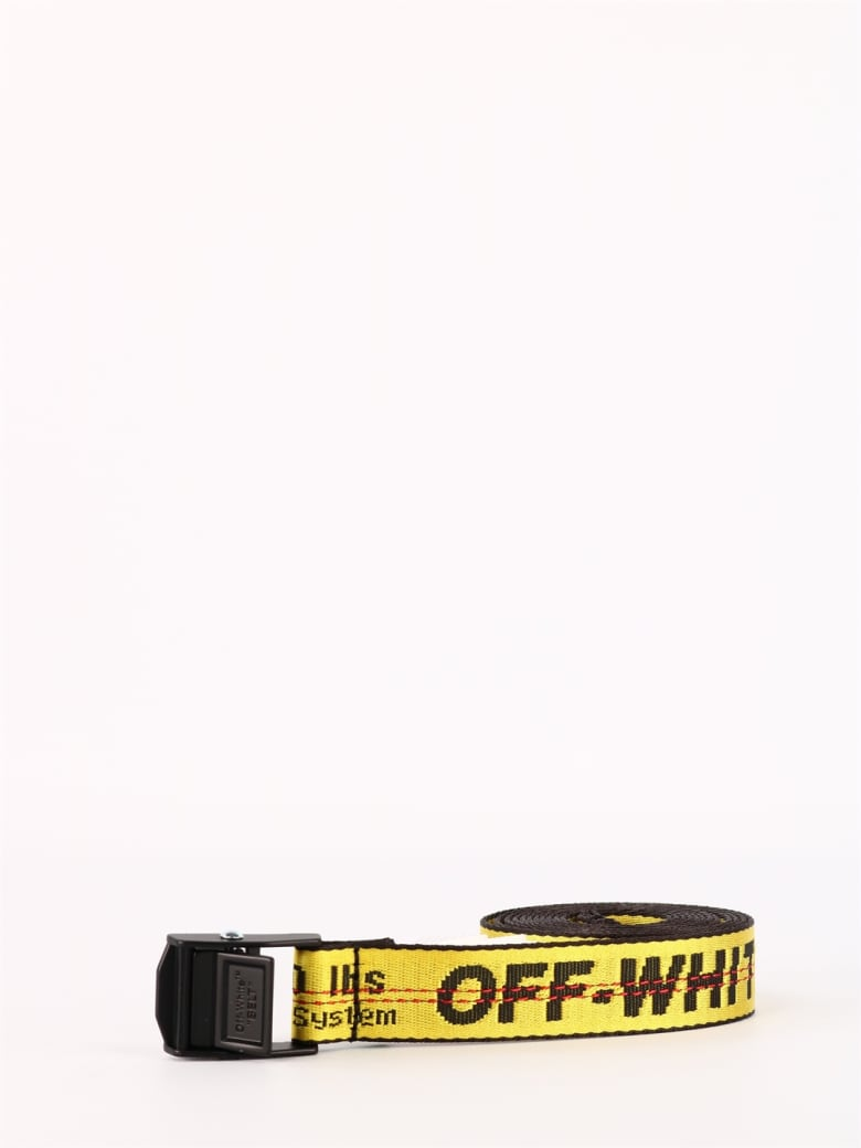 Off-White Mini Industrial Belt - Giallo